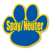 Spay/Neuter Pet Paw Magnet