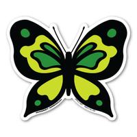 Green Butterfly Magnet