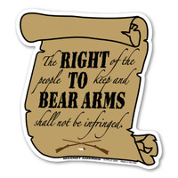 Right To Bear Arms Second Amendment Magnet