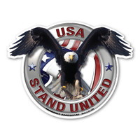 Stand United Eagle  Magnet