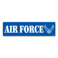 Air Force Bumper Strip  Magnet
