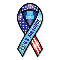 Aim High U.S. Air Force 2-in-1 Ribbon  Magnet