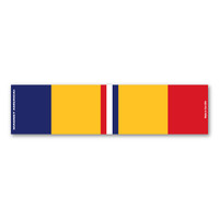 Combat Action Service Mini Ribbon Bar  Magnet
