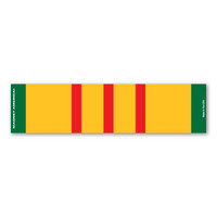 Vietnam War Service Mini Ribbon Bar Magnet