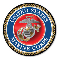 "In 1775, the Marine Corps was formed as the Continental Marines. They were specifically established to serve as an infantry branch that was able to engage in combat both on land and at sea during the American Revolutionary War. Today, members of the Marine Corps work closely with the Navy as well as the Army and the Air Force, gaining nicknames such as ""America's third Air Force"" and ""America's second land Army."" This Car Door Sign can be used for special events or by former and current Marines to show their pride in their branch."