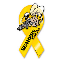 Seabees Ribbon Magnet