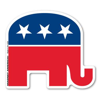 Republican Elephant Magnet Magnet America
