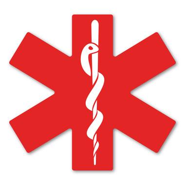 Ems Red Symbol Magnet Magnet America