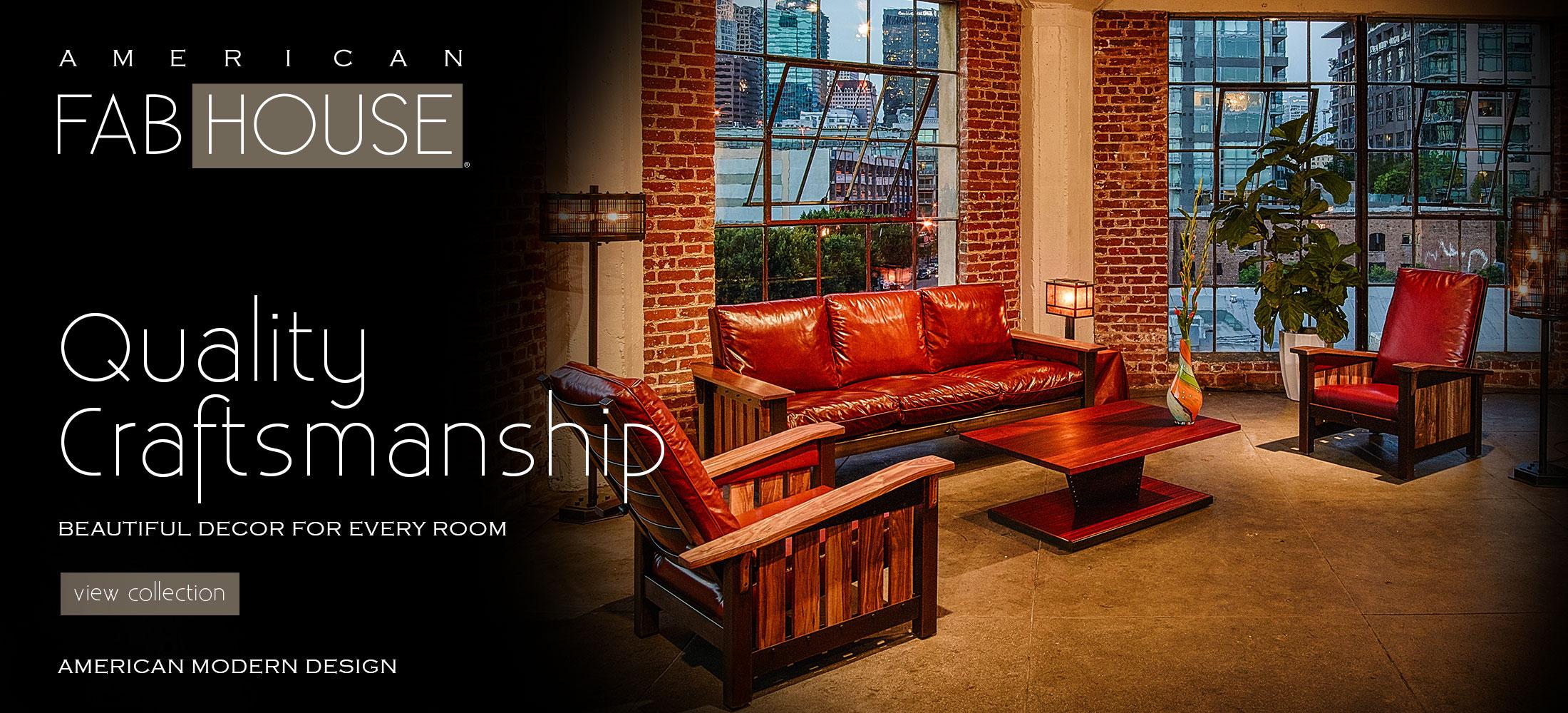 USA Made Quality Craftsmanship American Fabhouse
