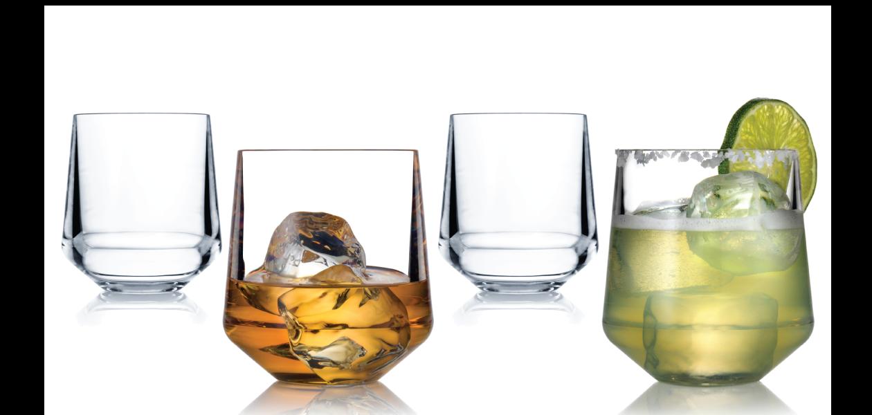 Drinique Stemless Wine Glass 12 oz.