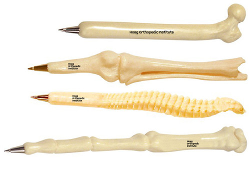 Anatomical Bone Pen Set