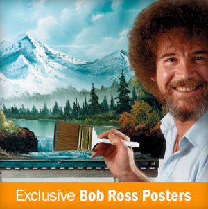 Bob Ross Posters