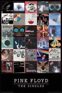 Pink Floyd Singles Poster 24x36