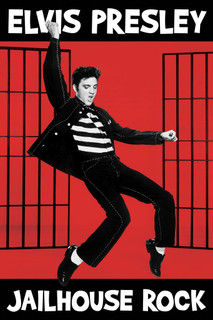 Elvis Presley Jailhouse Rock Movie Poster 24x36