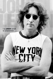 John Lennon New York Music Poster 24x36