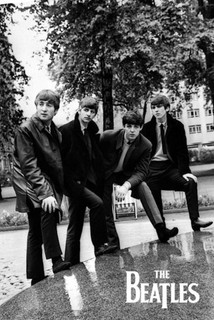 The Beatles Pose Music Poster 24x36