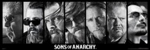 Sons of Anarchy Reaper Crew Poster 36x12