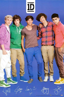 One Direction Music Poster 24x36