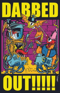 Trog Dabbed Out!!! Retro Blacklight Poster 23x35
