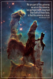 We Are Part of This Universe Neil deGrasse Tyson Quote Poster 24x36 inch