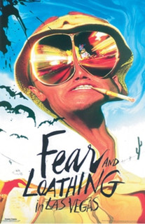 Fear and Loathing in Las Vegas Movie Poster 24x36