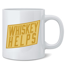 Whiskey Helps 12 oz Mug Coffee Mug