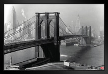 Time Life Brooklyn, 1946 Photo Art Print Framed Poster 12x18 inch