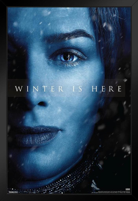 Game of Thrones Season 7 Cersei Lannister Winter Is Here TV Show ...