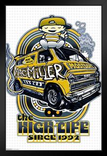 Mac Miller - The High Life Since 1992 Music Framed Poster 18x12