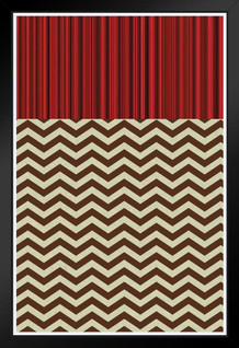 The Black Lodge Art Print Framed Poster by ProFrames 14x20 inch
