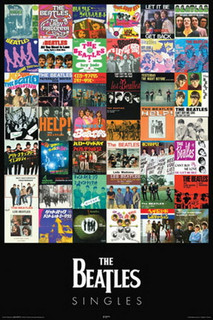 The Beatles Singles Music Poster 24x36