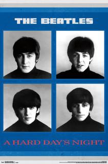 The Beatles A Hard Days Night Album Music Poster 22x34