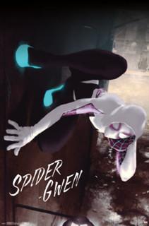 SpiderGwen Wall Crawler Comic Book Art Print Poster 22x34