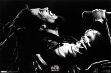 Bob Marley Live Black And Week Music Poster 34x22