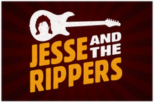 Jesse And The Rippers Band TV Show Poster 18x12