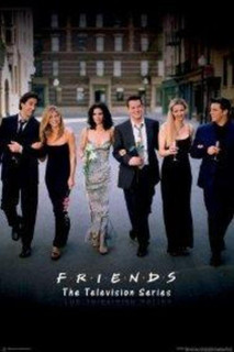 Friends Group Classic TV Show Poster 24x36