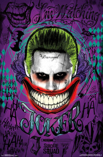 Suicide Squad Joker Movie Poster 22x34