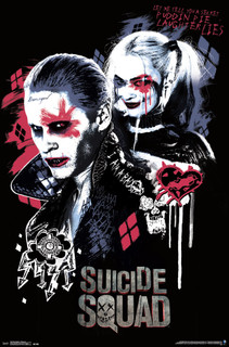 Suicide Squad Twisted Love Movie Poster 22x34