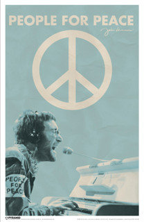 John Lennon People For Peace Poster 11x17