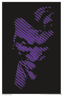 The Joker Comic Book Art Blacklight Poster 22x34