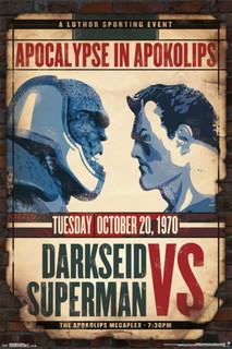 Darkseid vs Superman Comic Book Poster 24x36
