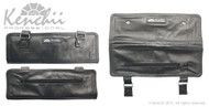 Genuine Leather 4-shear Roll Case, Large