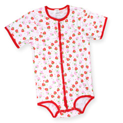 Strawberry Snap Onesie
