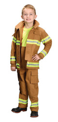 Fire Fighter Child Tan Lg 8-10