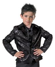 Disco Jacket Child Black Large