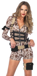 Battlefield Babe Romper Ad Lg