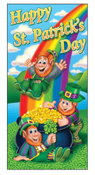 Happy St Patricks Day Door Cov