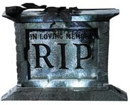 Tombstone Pedestal 22 W/rose