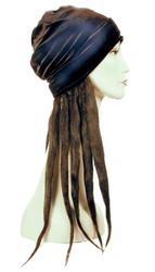 Dread Lock Hat Bargain Black
