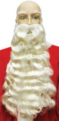 Santa Beard 006 White
